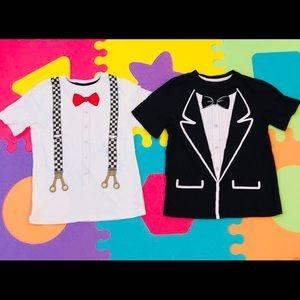 Other - Dapper Little Man Bow Tie T-Shirt Bundle